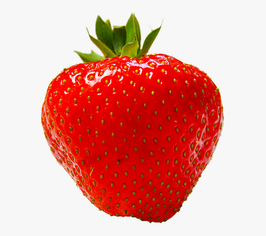 Strawberry Fruit Red Photo Pixabay - Red Strawberry Fruit, Transparent Clipart