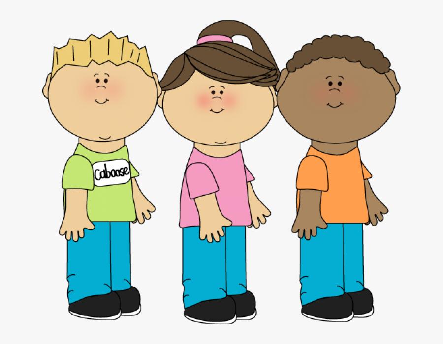 Caboose Clipart Child - Line Leader Preschool Job, Transparent Clipart