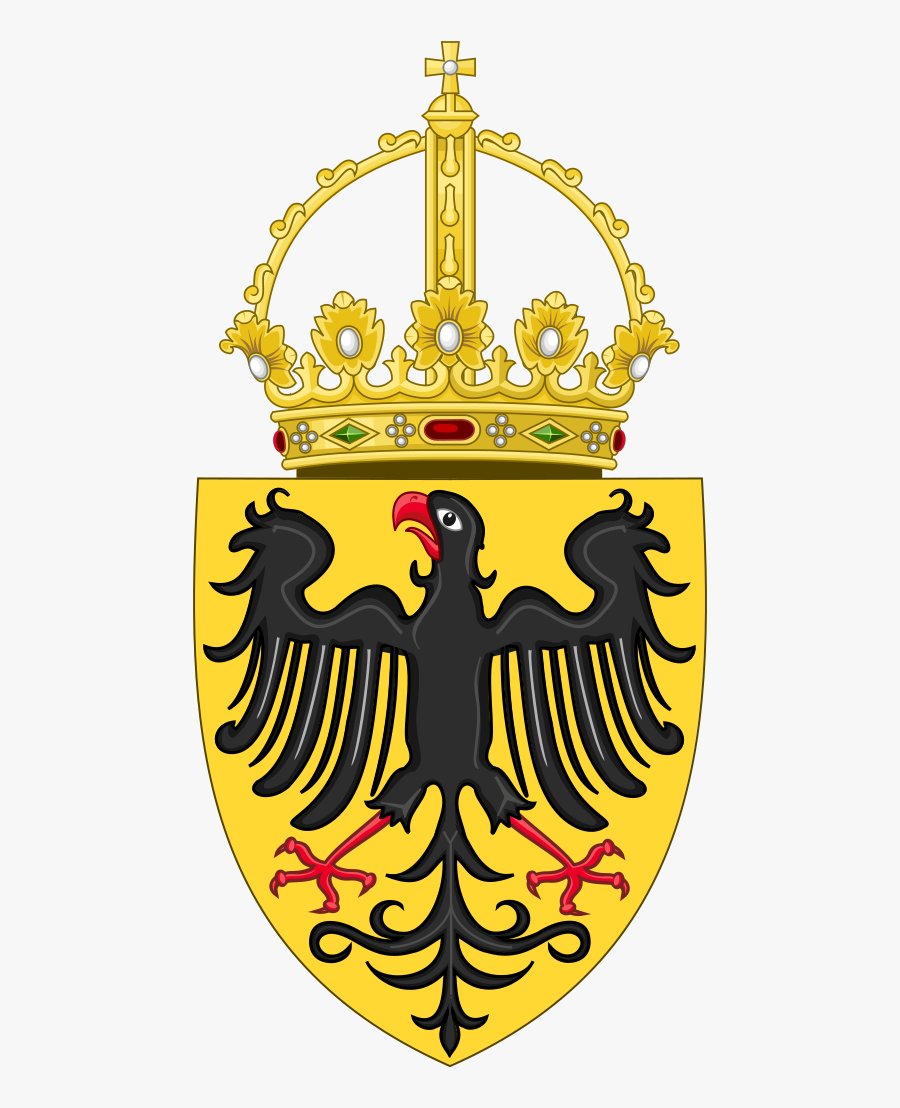 Medieval Holy Roman Empire Flag, Transparent Clipart