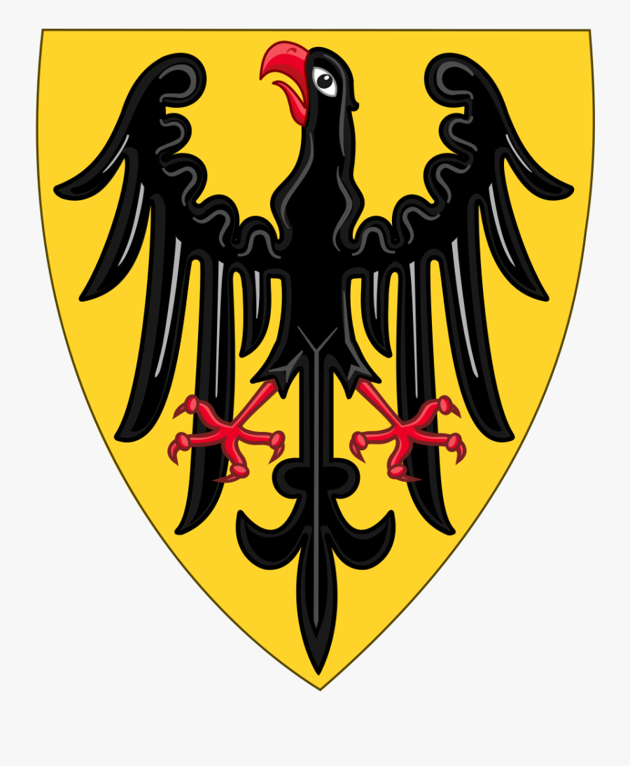 Shield And Coat Of Arms Of The Holy Roman Emperor - Heraldic Double Headed Eagle Holy Roman Empire, Transparent Clipart
