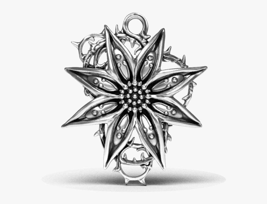 Thorncrown - Cross - Pendant, Transparent Clipart