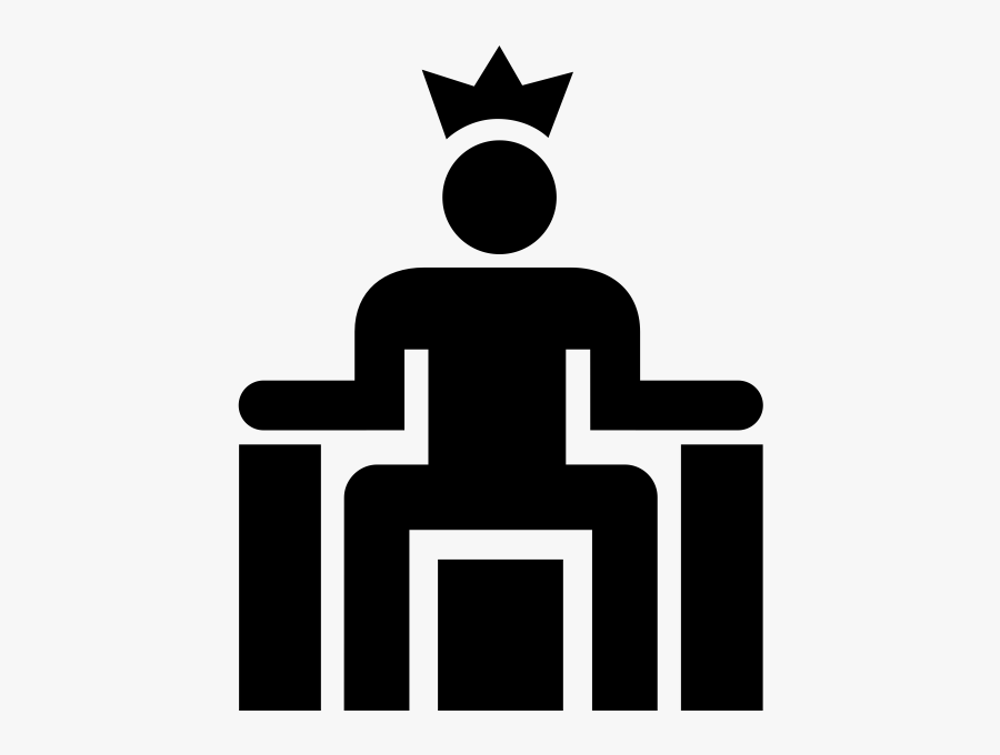 "King Rubber Stamp""  Class=""lazyload Lazyload Mirage - King On Throne Icon, Transparent Clipart"