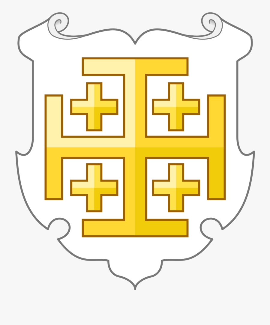 Gold Cross Coat Of Arms, Transparent Clipart