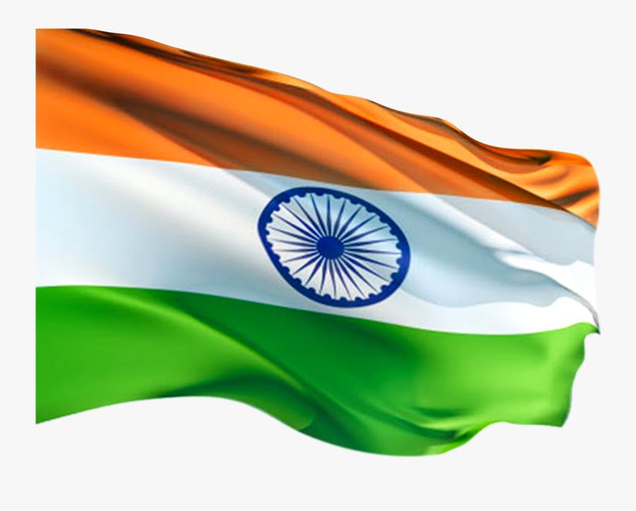 Transparent India Flag Clipart - Indian National Flag Png, Transparent Clipart