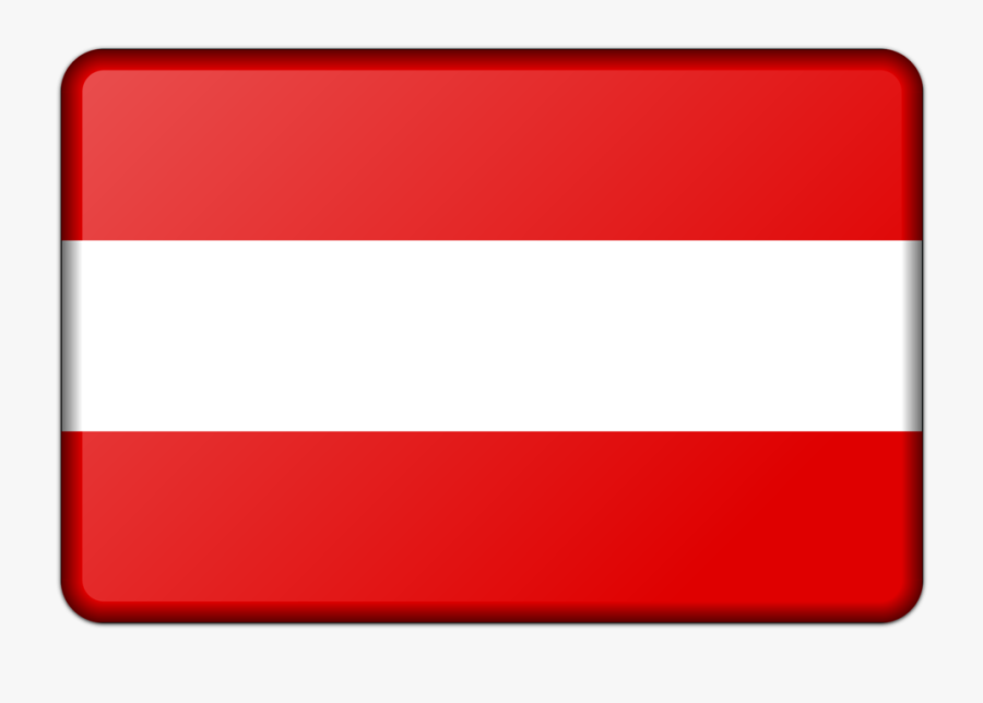 Square,red,line - Easiest Flag In The World, Transparent Clipart