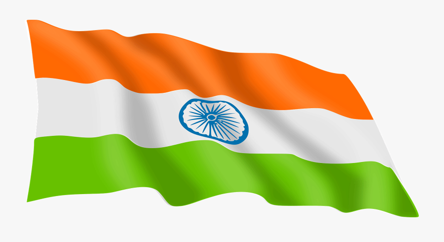 India Transparent Background - Indian Flag Png, Transparent Clipart