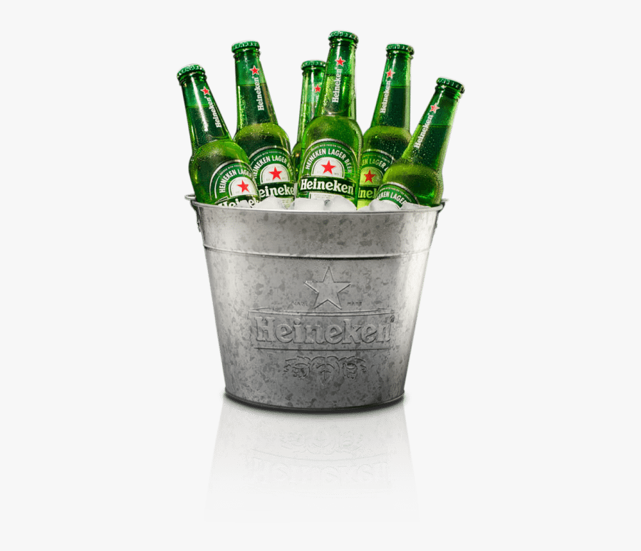 Bucket Heineken Beer Bucket Png Free Transparent Clipart