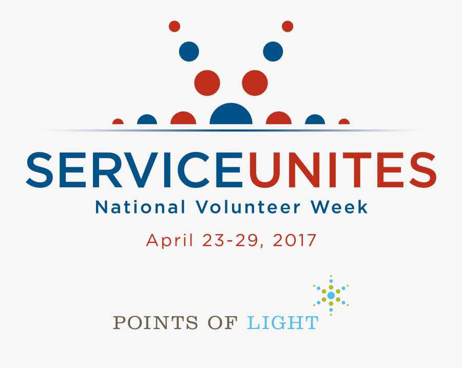 Volunteering Clipart Many Hands Make Light Work - National Volunteer Week 2017 Logo, Transparent Clipart