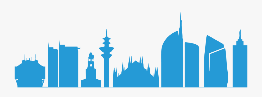High Quality It Consultant Services And Training For - Milan Skyline Silhouette Png, Transparent Clipart
