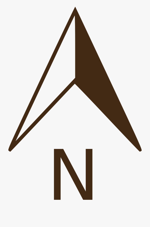 Transparent Compass North Png - North Compass Clipart, Transparent Clipart
