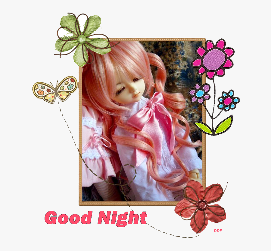 Comments And Graphics Codes - Good Night Baby Dolls, Transparent Clipart
