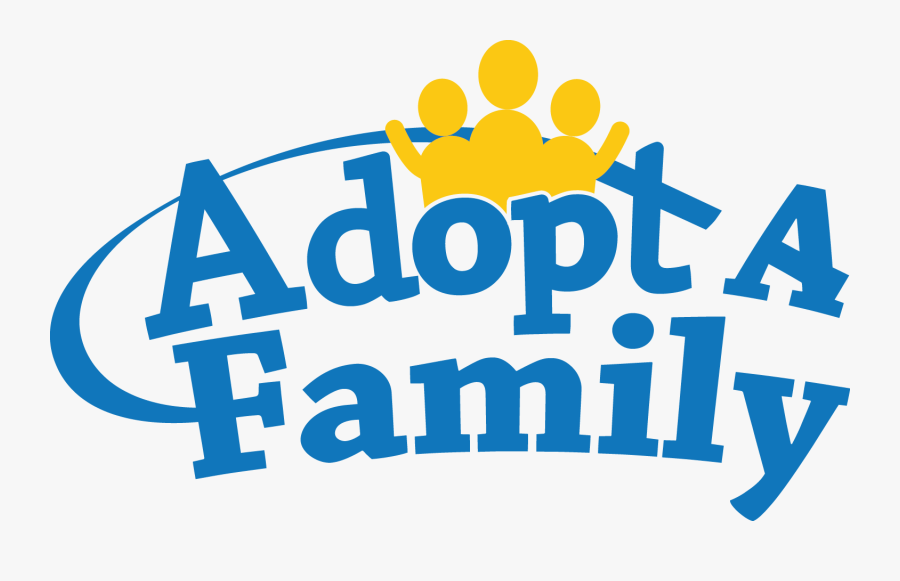 Families Clipart Logo - Adopt A Family Delaware, Transparent Clipart