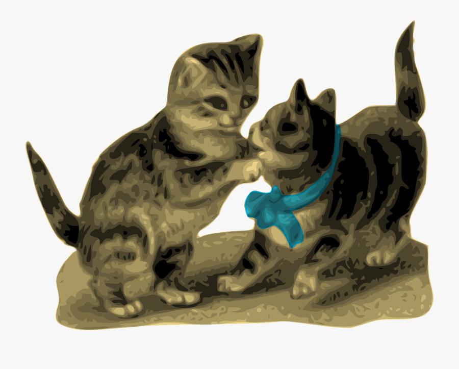 Clipart Animated Kitten, Transparent Clipart