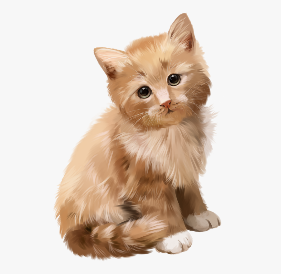 Cats And Dogs And Kittens And Puppies Paintings, Transparent Clipart