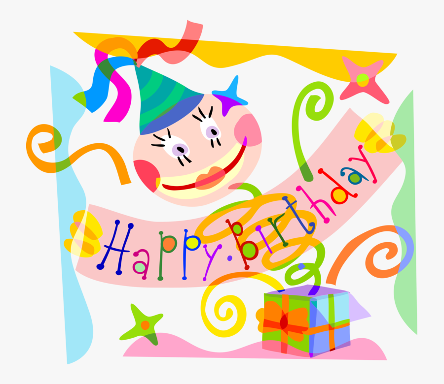Vector Illustration Of Happy Birthday Party Banner - Funny Birthday Quotes, Transparent Clipart