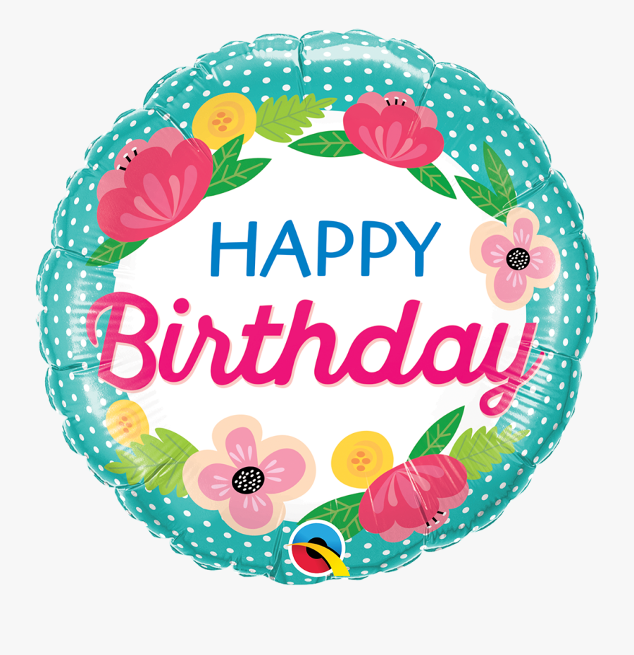 Birthday Basket Of Flowers, Transparent Clipart