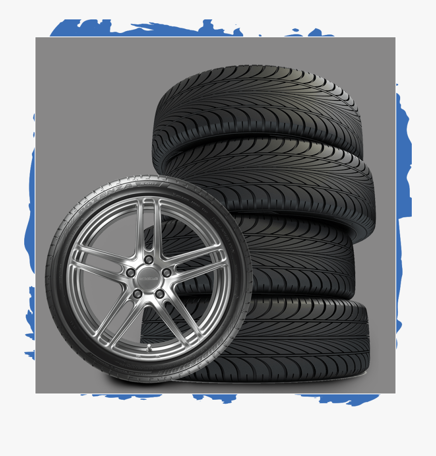Tire Stack Png - Tire And Wheel Png, Transparent Clipart