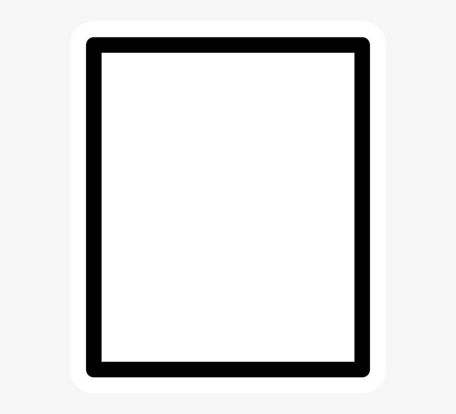Picture Frame,square,area - Symmetry, Transparent Clipart