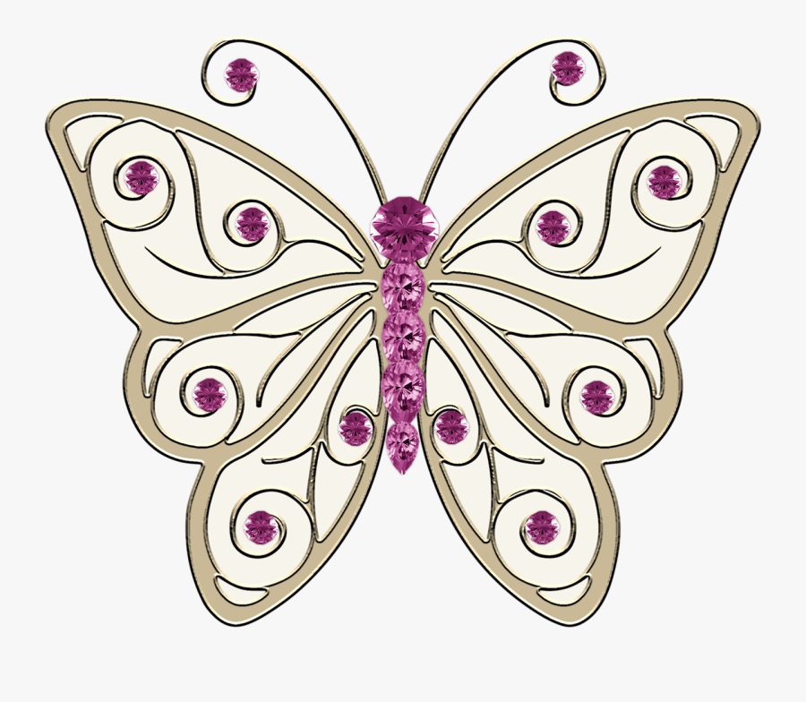 Lace Clipart Butterfly - Swallowtail Butterfly, Transparent Clipart