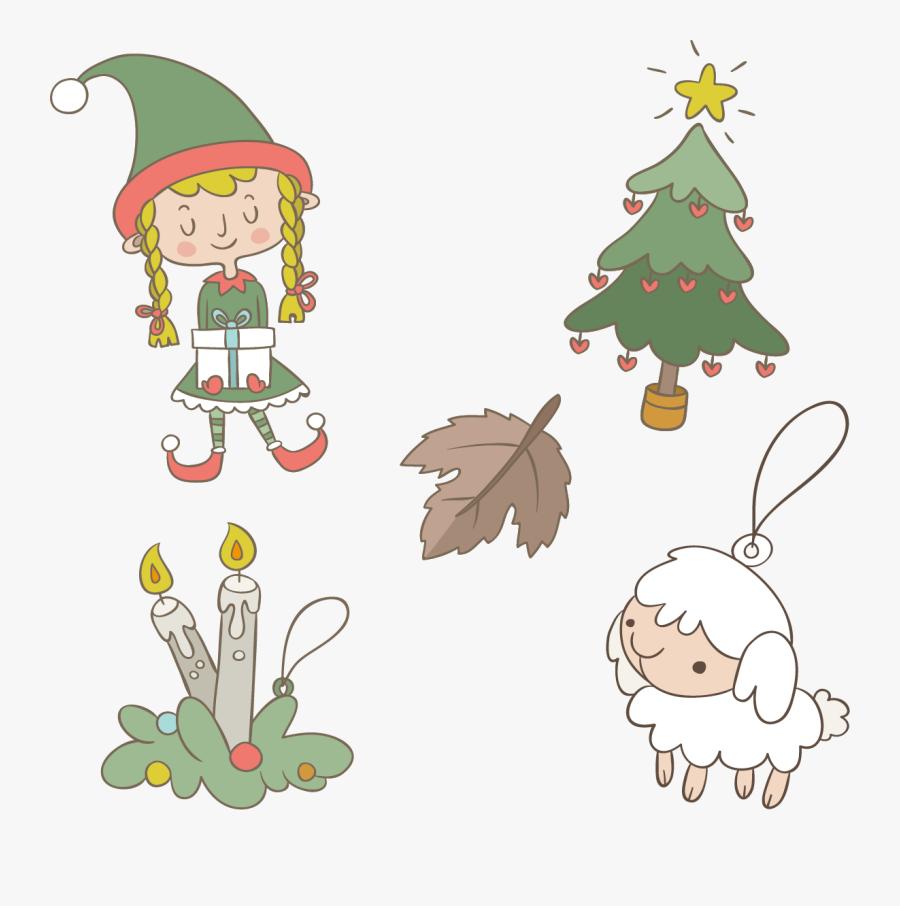 Ornaments Clipart Elf - Christmas Ornament, Transparent Clipart