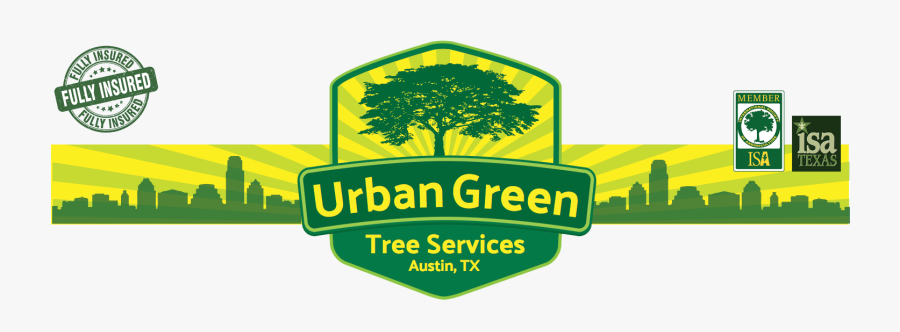Urban Green Austin Tree Services - Graphic Design, Transparent Clipart