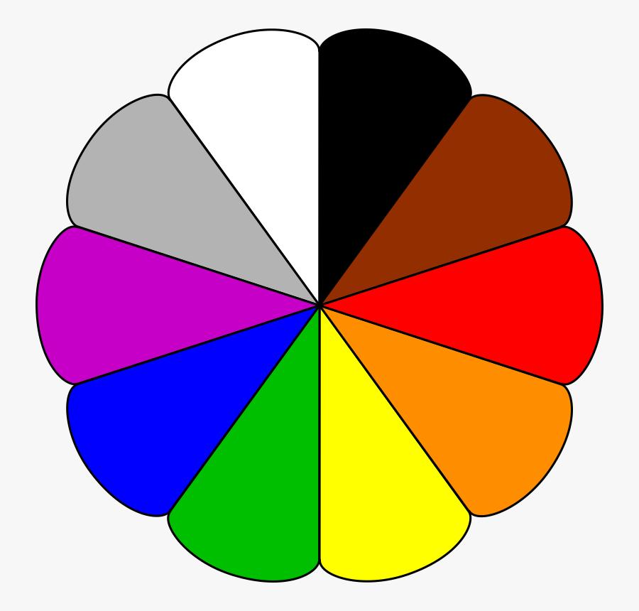 Clip Art Color Palette Clipart - Colors Clipart, Transparent Clipart