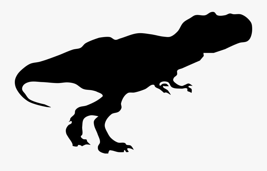 T Rex Silhouette Png, Transparent Clipart