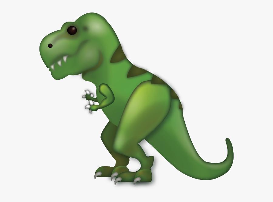 T Rex Emoji Iphone, Transparent Clipart