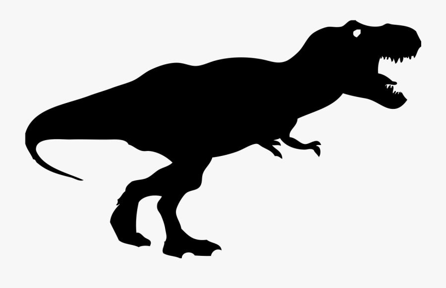 Tyrannosaurus Dinosaur Triceratops Diplodocus - Tyrannosaurus Rex Silhouette Png, Transparent Clipart