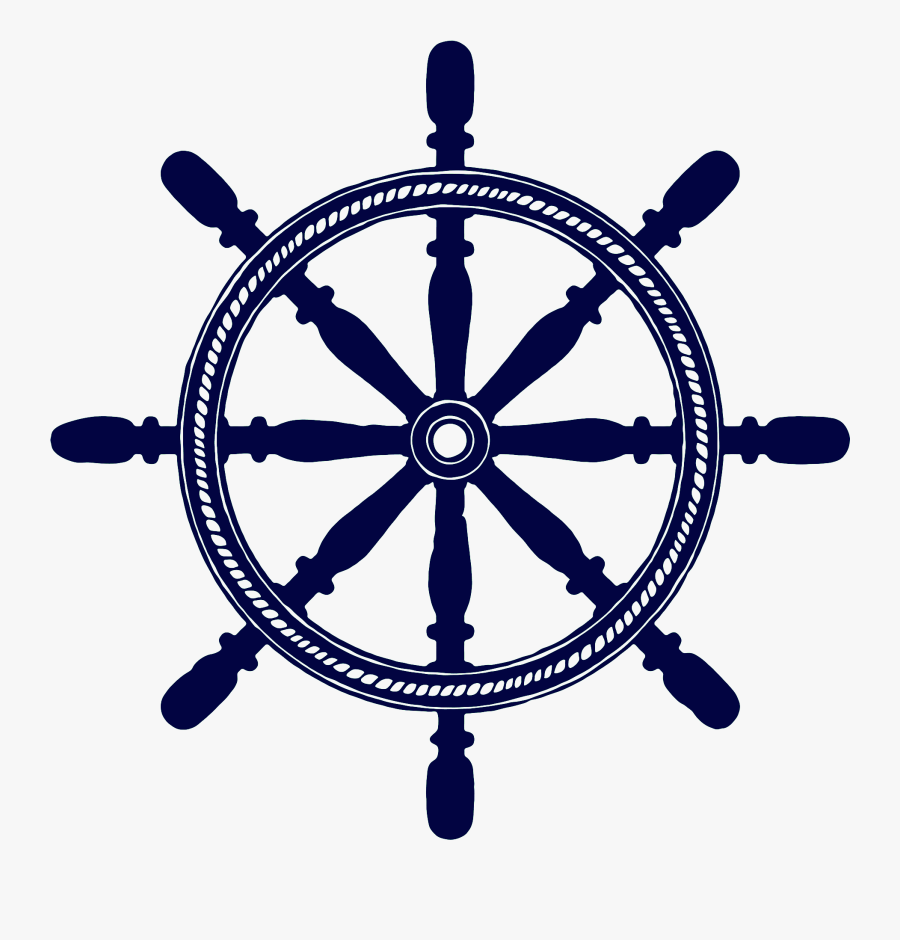Images In Collection Page - Ship Steering Wheel Logo, Transparent Clipart