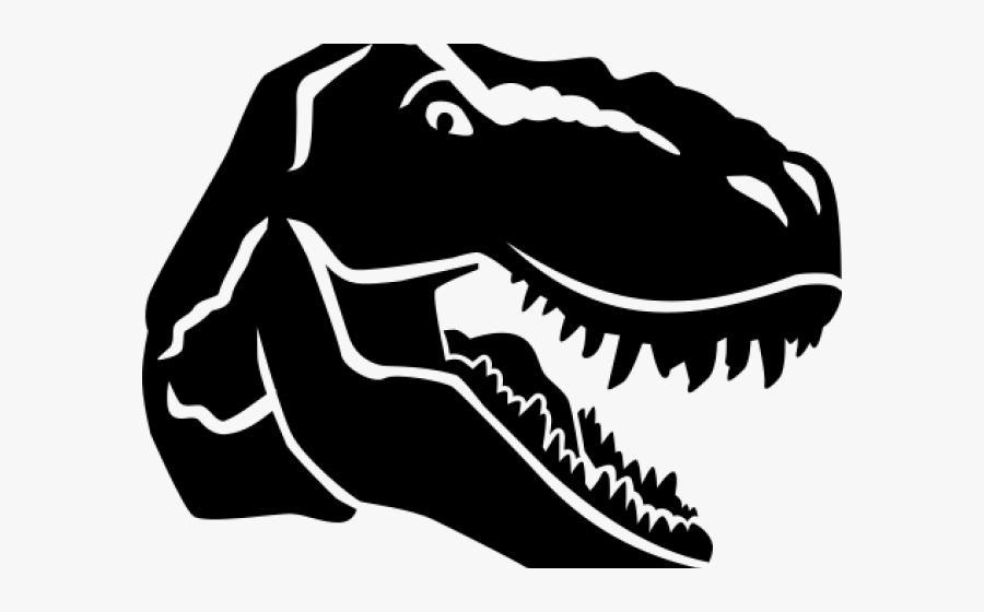 Dinosaur Clipart Skull - T Rex Face Clipart, Transparent Clipart