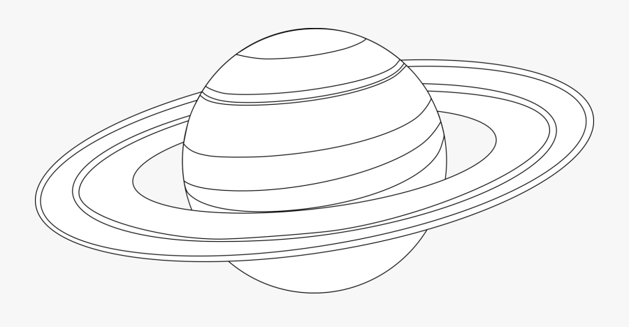 Thumb Image - Saturn Planet Coloring Pages, Transparent Clipart