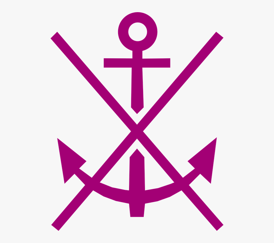 Anchor, Maritime, Anchorage, Nautical, Ship, Marine - Transparent Background Anchor Png, Transparent Clipart