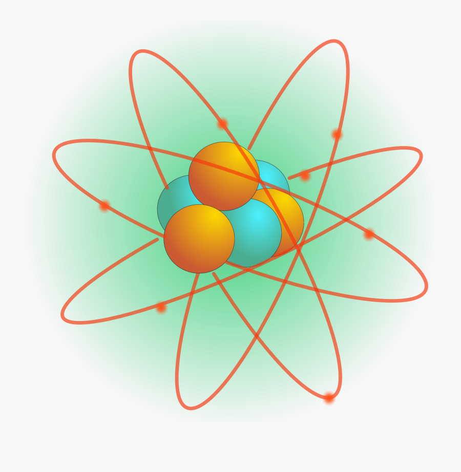 Science Things Clipart , Png Download - Structure Of Atom Png, Transparent Clipart