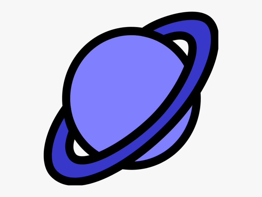 Ringed Planet Clipart, Transparent Clipart