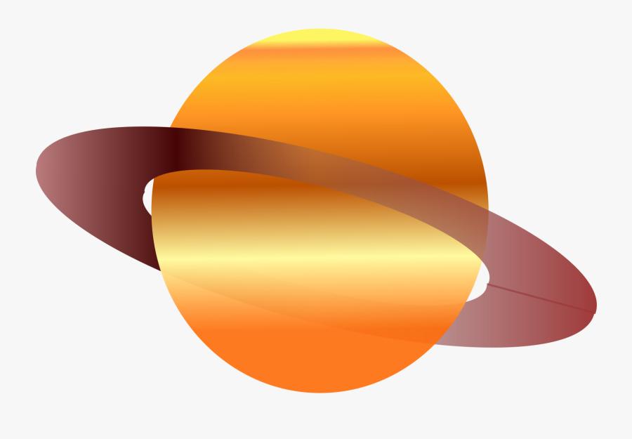 Planet Clipart Saturn - Saturno Caricatura, Transparent Clipart