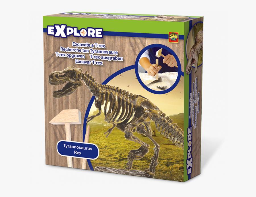 Transparent Trex Clipart - Ses Explore Tyrannosaurus, Transparent Clipart