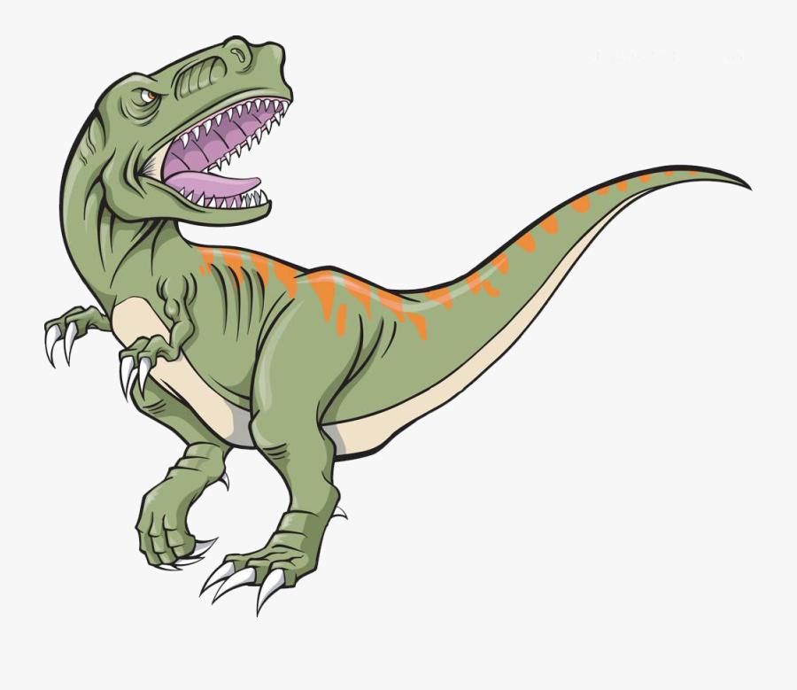 Trex Clipart Dinoaur - T Rex Dinosaur Vector, Transparent Clipart