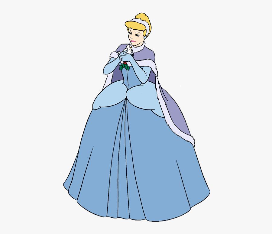 Frozen Disney Princess Clipart - Disney Princess Cinderella Christmas, Transparent Clipart