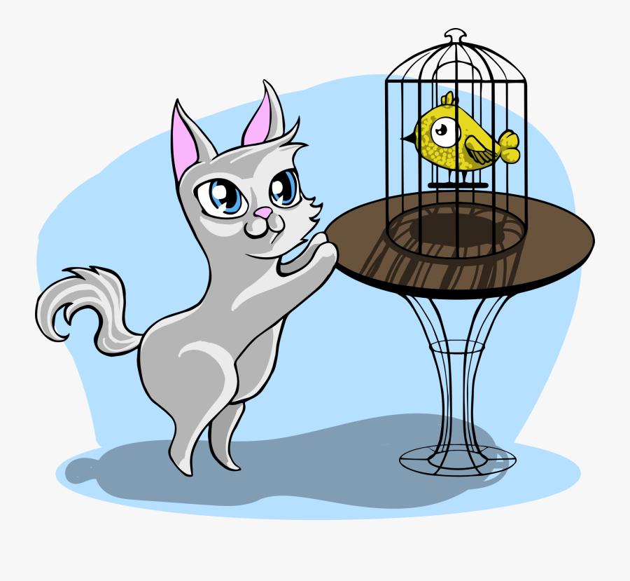 Deckblatt Katze, Transparent Clipart