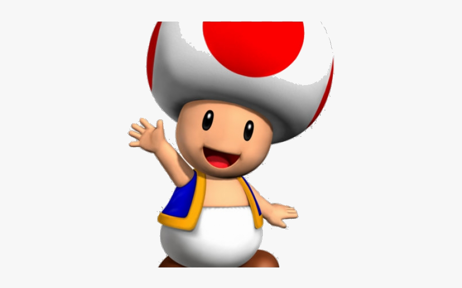 Mario Super Clipart Toad Kart Transparent Png Super Mario Toad
