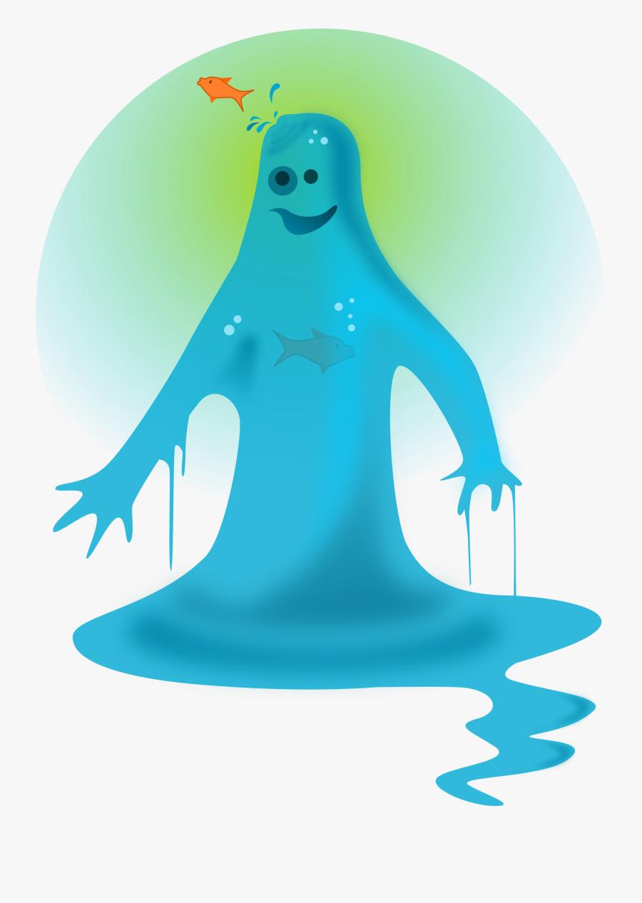 Super Hero - Super Hero Water Man, Transparent Clipart