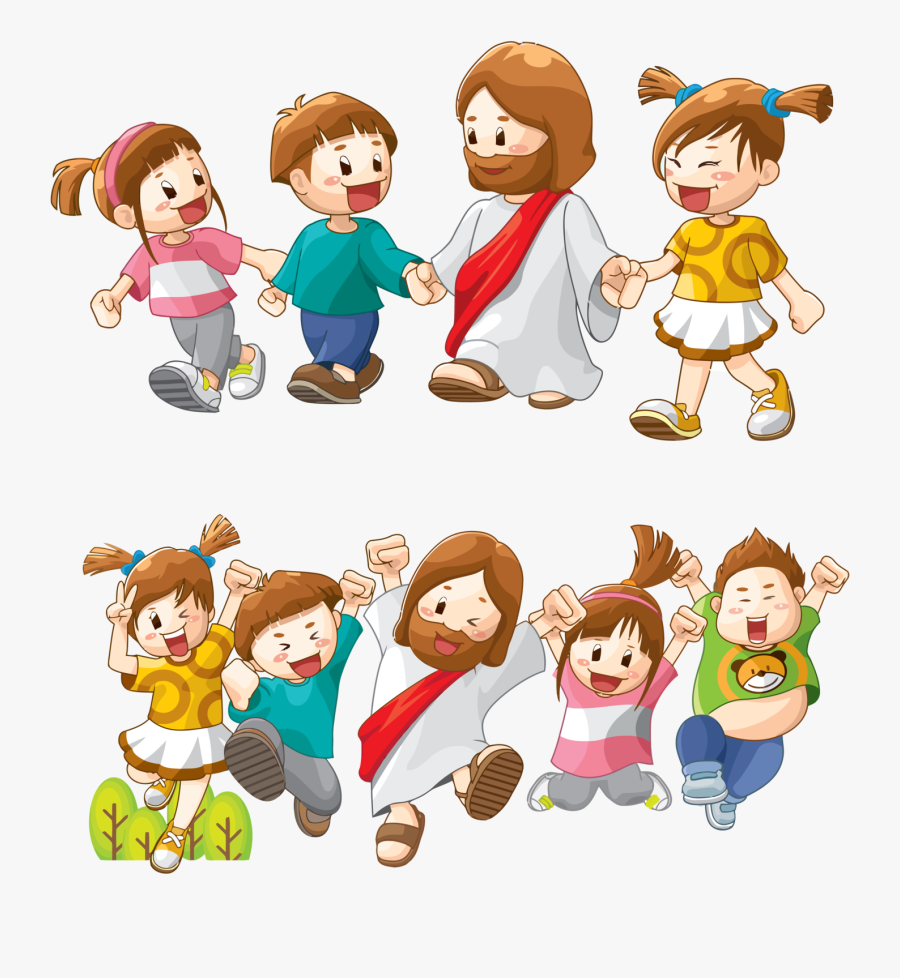 Bible Child Clip Art - Bible Kids Cartoon, Transparent Clipart