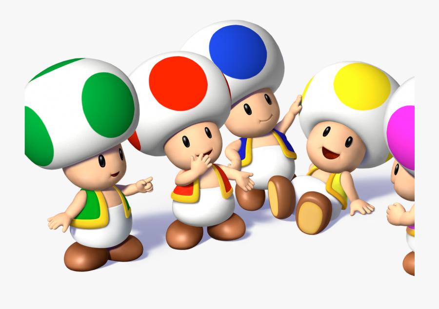 Transparent Toads Clipart - Toads Super Mario Bros, Transparent Clipart