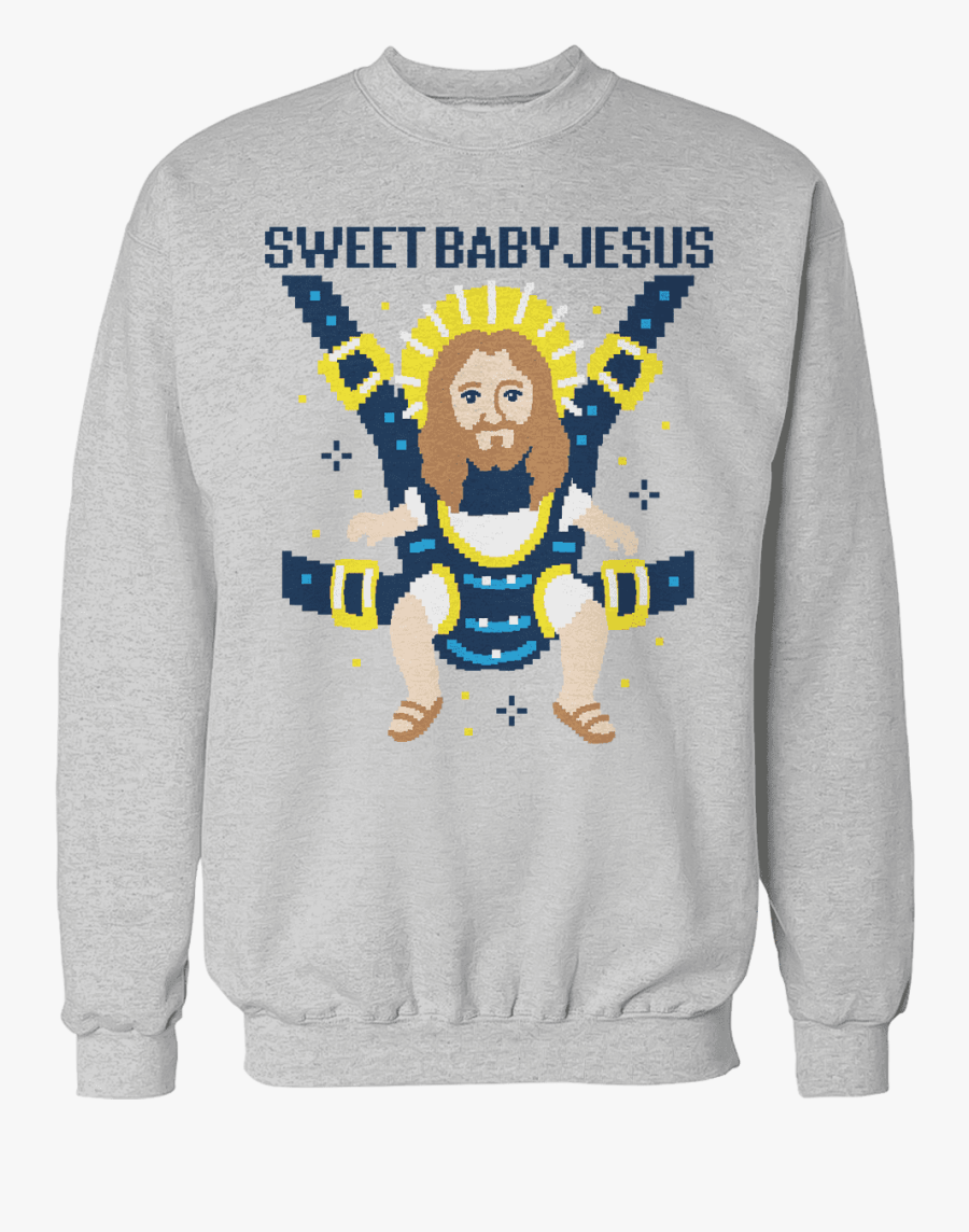 Transparent Baby Jesus Clipart - Sweet Baby Jesus Sweater, Transparent Clipart