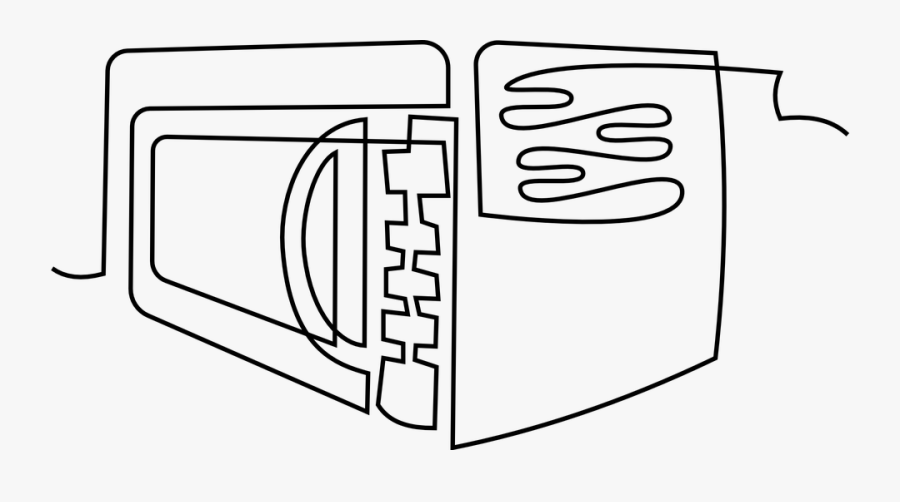 Free Vector Graphic Microwave Oven Oven Clipart Free - Oven, Transparent Clipart