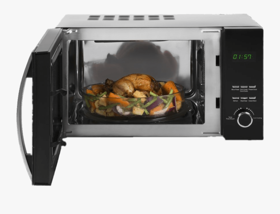 Dish In Combi Grill Microwave - Microwave Oven, Transparent Clipart