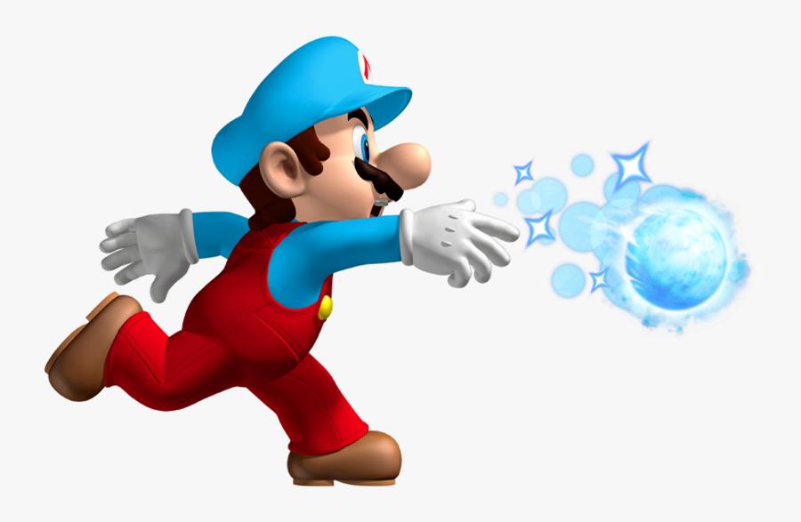 New Super Mario Bros Wii Ice Mario, Transparent Clipart