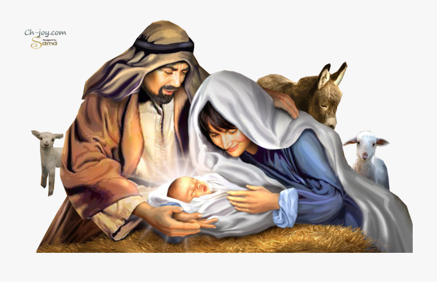 Birth Of Jesus Christ Png, Transparent Clipart