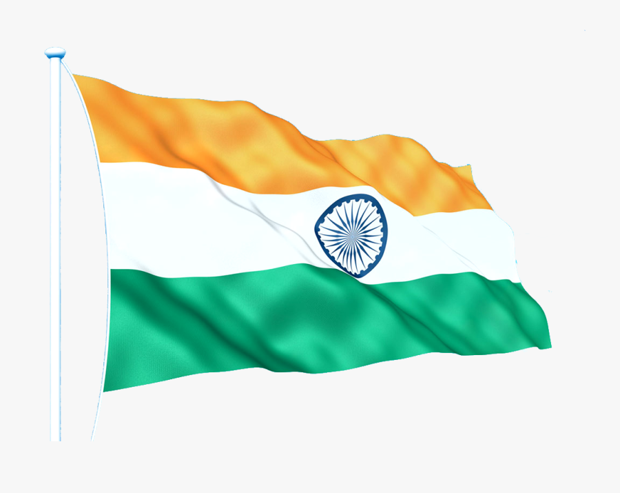 India National Flag Png, Transparent Clipart